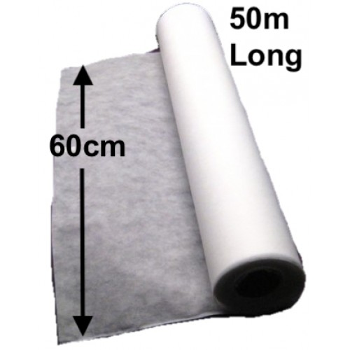 Disposable non woven roll 60cm wide x 50m