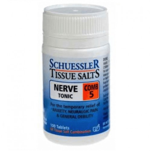 Tissue Salts Nerve Tonic Combination 5