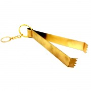 Charcoal Tongs BRASS