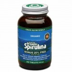Spirulina Mountain Organic 200 Tablets