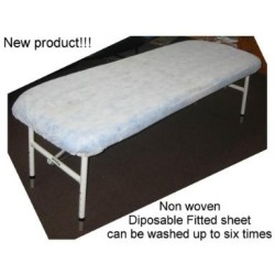 Disposable non woven fitted sheet covers - 10 Pack