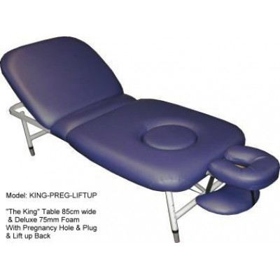 Pregnancy table hole and plug King Style