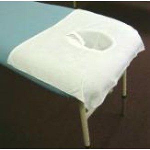 Terry Towelling face hole cover - A.I.O Table - Single