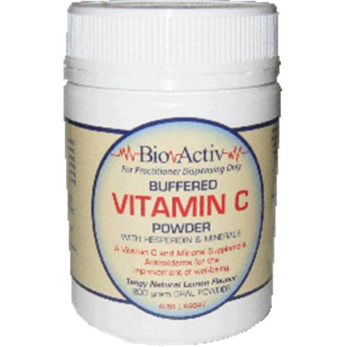 Buffered Vitamin C Powder with Hesperedin & Minerals 200g